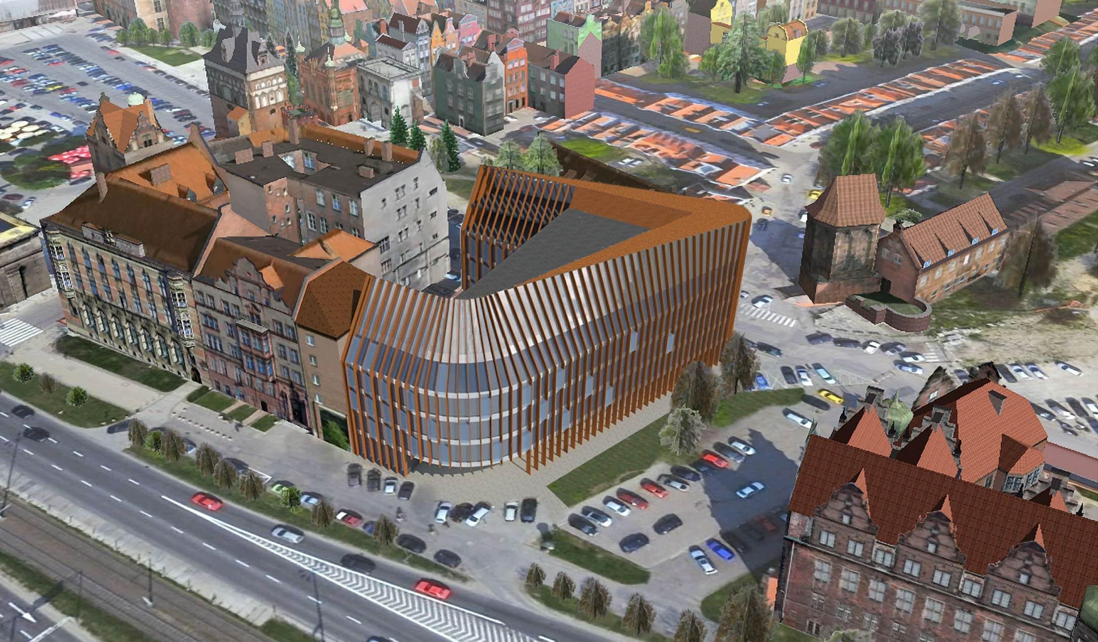 Budynek biurowy Centromor – konkurs | Gdańsk